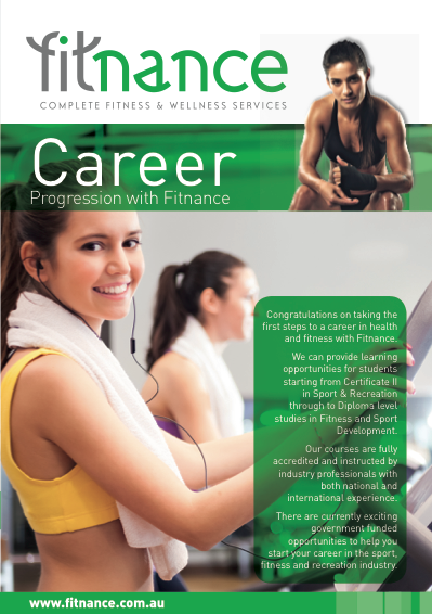 Flyer for Fitness Company